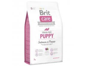 BRIT Care Grain-free Puppy Salmon & Potato-3kg