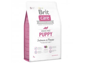 BRIT Care Grain-free Puppy Salmon & Potato-3kg