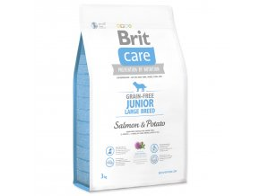 BRIT Care Grain-free Junior Large Breed Salmon & Potato-3kg