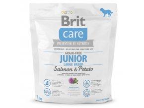 BRIT Care Grain-free Junior Large Breed Salmon & Potato-1kg