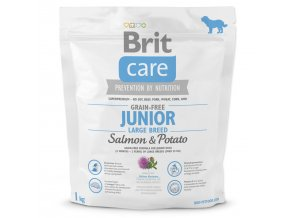 BRIT Care Grain-free Junior Large Breed Salmon & Potato-1kg