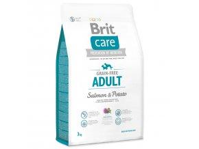 BRIT Care Dog Grain-free Adult Salmon & Potato-3kg