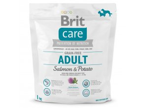 BRIT Care Dog Grain-free Adult Salmon & Potato-1kg