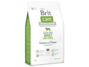 BRIT Care Dog Grain-free Adult Large Breed Salmon & Potato-3kg