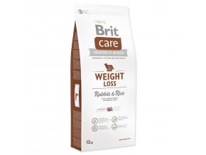BRIT Care Dog Weight Loss Rabbit & Rice-12kg
