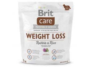 BRIT Care Dog Weight Loss Rabbit & Rice-1kg