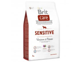 BRIT Care Dog Grain-free Sensitive Venison & Potato-3kg