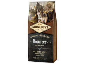 CARNILOVE Reindeer for Dog Adult-12kg