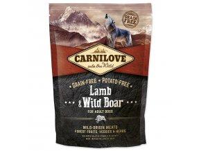CARNILOVE Lamb & Wild Boar for Dog Adult-1,5kg