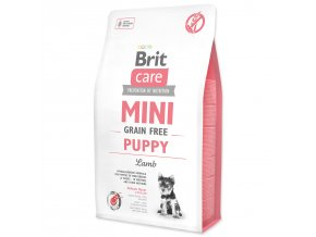 BRIT Care Mini Grain Free Puppy Lamb-2kg