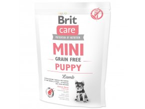 BRIT Care Mini Grain Free Puppy Lamb-400g