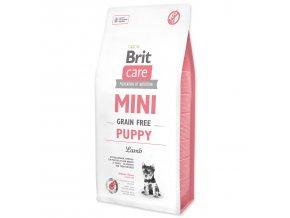 BRIT Care Mini Grain Free Puppy Lamb-7kg