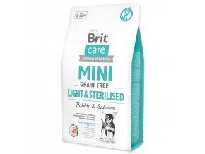 BRIT Care Dog Mini Grain Free Light & Sterilised-2kg