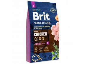 BRIT Premium by Nature Junior S-8kg