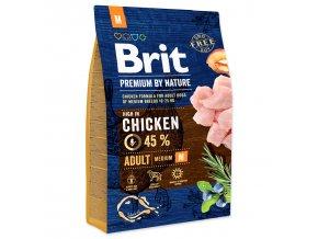 BRIT Premium by Nature Adult M-3kg
