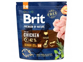 BRIT Premium by Nature Senior S+M-1kg