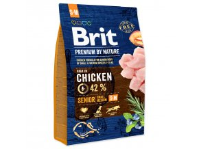 BRIT Premium by Nature Senior S+M-3kg