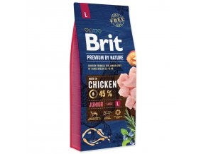 BRIT Premium by Nature Junior L-15kg