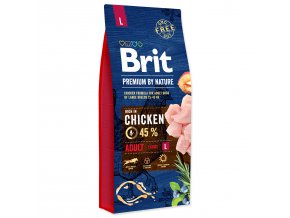 BRIT Premium by Nature Adult L-15kg