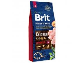 BRIT Premium by Nature Senior L+XL-15kg