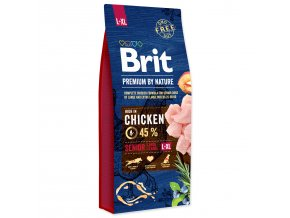 BRIT Premium by Nature Senior L+XL-15kg