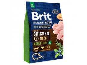 BRIT Premium by Nature Adult XL-3kg