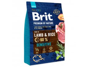 BRIT Premium by Nature Sensitive Lamb-3kg