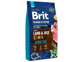 BRIT Premium by Nature Sensitive Lamb-8kg