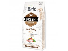 BRIT Fresh Turkey with Pea Light Fit & Slim-2,5kg