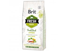 BRIT Fresh Duck with Millet Active Run & Work-12kg