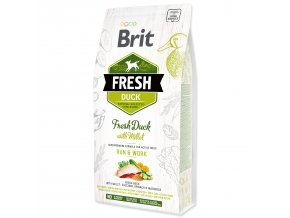 BRIT Fresh Duck with Millet Active Run & Work-2,5kg