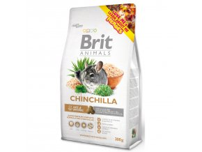 BRIT Animals Chinchila Complete-300g