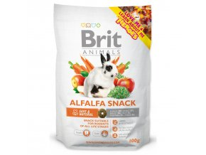 Snack BRIT Animals Alfalfa for Rodents-100g