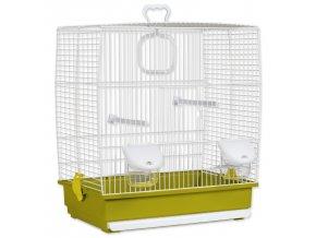 Klec BIRD JEWEL Klára bílo-zelená-1ks