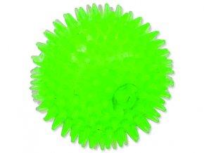 Hračka DOG FANTASY míček pískací zelený 10 cm-1ks