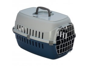Přepravka DOG FANTASY Carrier modrá 48,5 cm-1ks