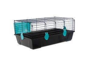 Klec SMALL ANIMALS Michal černá s modrou výbavou-1ks