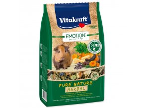 VITAKRAFT Emotion herbal morče-600g