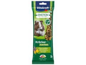 Tyčinky VITAKRAFT Emotion kracker morče herbal-112g