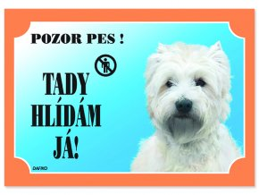 Tabulka DAFIKO west highland white terrier-1ks