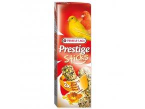 Tyčinky VERSELE-LAGA Prestige Sticks s medem pro kanáry-60g