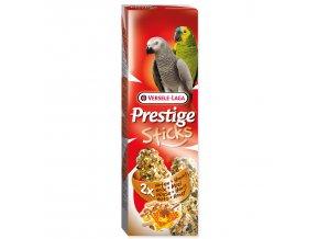 Tyčinky VERSELE-LAGA Prestige ořechy a med pro velké papoušky-140g