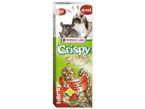 Tyčinky VERSELE-LAGA Crispy s bylinami pro králíky a činčily-110g