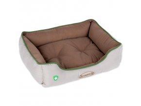 Pelech SCRUFFS Insect Shield Box Bed hnědý 50 x 40 cm-1ks