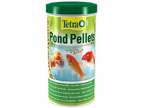 TETRA Pond Pellets medium-1l