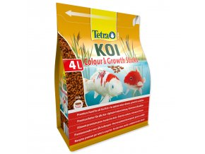 TETRA Pond Koi Colour&Growth Sticks-4l