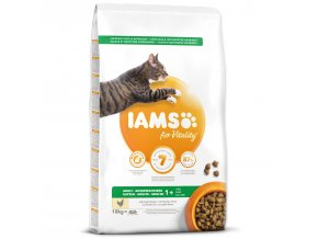 IAMS for Vitality Adult Cat Food with Fresh Chicken-10kg
