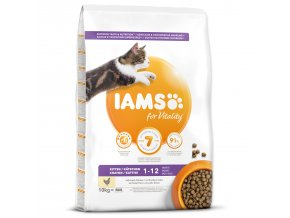 IAMS for Vitality Kitten Food with Fresh Chicken-10kg