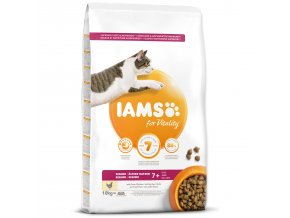 IAMS for Vitality Senior Cat Food with Fresh Chicken-10kg