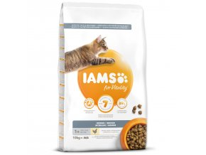 IAMS for Vitality Indoor Cat Food with Fresh Chicken-10kg
